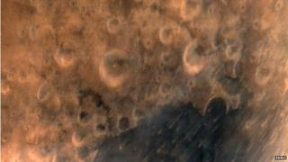 Picture of Mars by Indian orbiter, 25 September