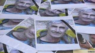 photos of killed French tourist Herve Gourdel in France 25 September 2014