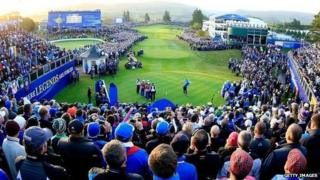 Ryder Cup crowds