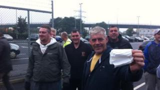 strike at Ferrybridge