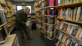 Mobile library in Derbyshire