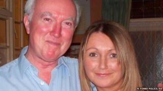 Peter Lawrence with his daughter Claudia, who disappeared in 2009