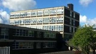 St Peter's High School in Derry