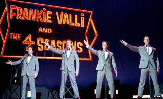 Scene from 2014 film of Jersey Boys