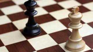 Kings on a chess board
