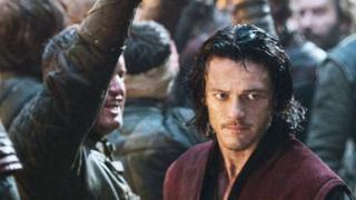 Bobby Marno with Luke Evans in Dracula Untold