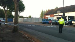 Foleshill scene of crime