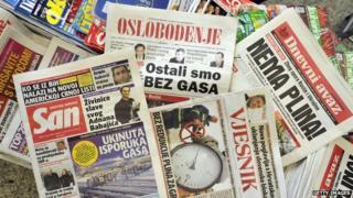 Bosnian newspapers