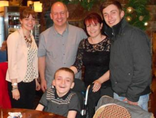 Ben Talbot and family