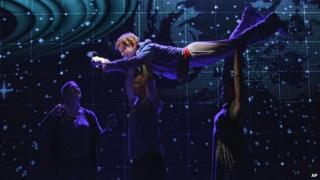 Alex Sharp in The Curious Incident of the Dog in the Night-Time