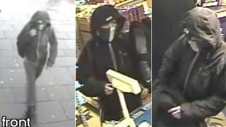 Images of suspect