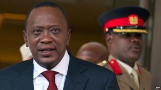Uhuru Kenyatta, May 2013
