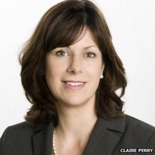 Rail Minister Claire Perry