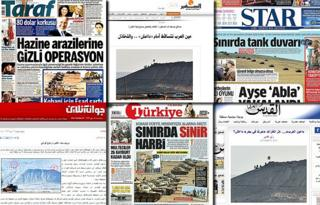 Combo photo of the front-pages