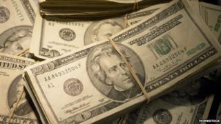 US dollars (file photo)