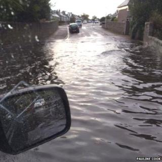 Aberdeen flooding