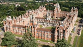 Founder's building, Royal Holloway