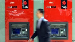 NAB cash machines