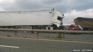 M56 crash