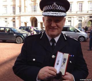 Durham Police Chief Constable Mike Barton
