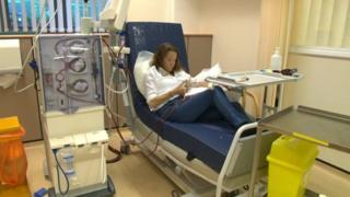 Sally-Anne Grainger on dialysis