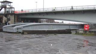 Brunel's other bridge in Bristol's Cumberland Basin