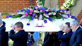 Funeral of Hannah Witheridge