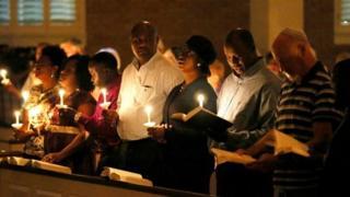 Vigil for Eric Duncan