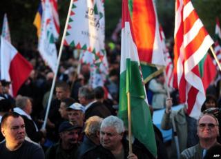 Jobbik rally - file pic