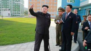 Kim Jong-un made his first public appearance on Tuesday after a gap of 40 days