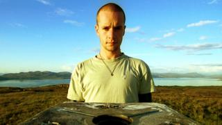 Front cover of Martin Bennett's Grit album
