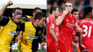 Southport FC and Liverpool FC