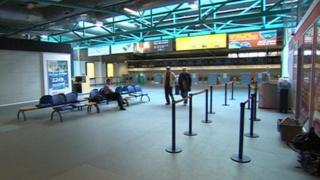 Blackpool Airport departures