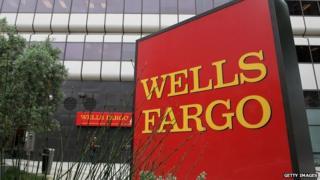 A Wells Fargo bank branch in Oakland, California.