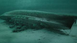 Sunken HMS Royal Oak