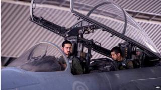 Saudi fighter pilots (23/09/14)
