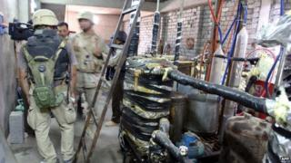US troops searched a suspected chemical weapons factory in 2005 in Mosul