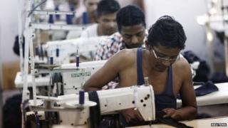 India garment factory workers