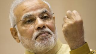 Mr Modi's 'Make in India' campaign is aimed at boosting manufacturing in the country