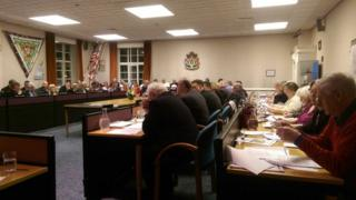 Amber Valley Borough Council core strategy meeting