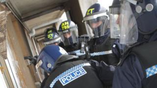 Raid police