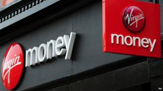 Virgin Money shop signs