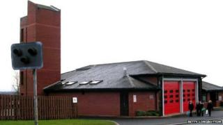 Otley fire station
