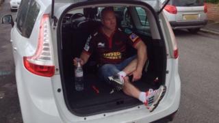 Taxi driver Richard Evans