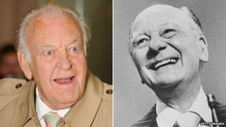 Sir Donald Sinden and Sir John Gielgud
