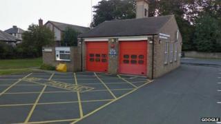 Barnard Castle Fire Station