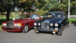 Daimler DS420 and Rolls Royce