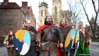 Viking re-enactment in York