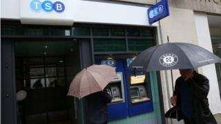 Customers outside TSB