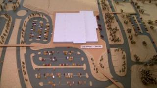 Architects plan of Craigavon